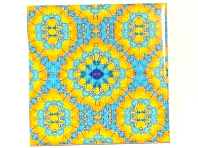 Vintage Gypsy Ceramic Tiles 10x10cm - Pattern 6 (HM)