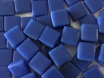 Violet Blue Gloss Glass tiles 1cm
