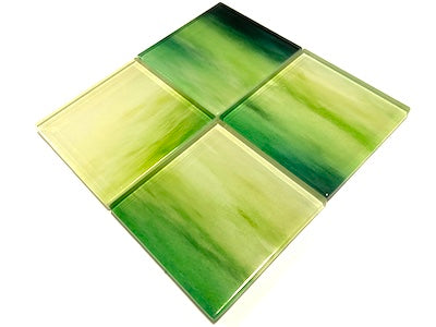 Watercolour Glass Mosaic Tiles 5cm - No. 10 (HM)