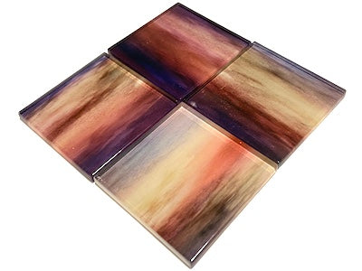 Watercolour Glass Mosaic Tiles 5cm - No. 12 (HM)