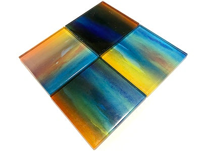 Watercolour Glass Mosaic Tiles 5cm - No. 14 (HM)