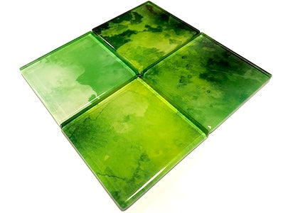 Watercolour Glass Mosaic Tiles 5cm - No. 22 (HM)