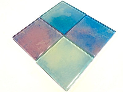 Watercolour Glass Mosaic Tiles 5cm - No. 24 (HM)