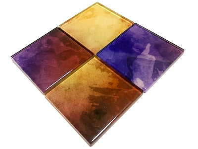 Watercolour Glass Mosaic Tiles 5cm - No. 27 (HM)