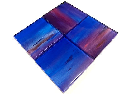 Watercolour Glass Mosaic Tiles 5cm - No. 9 (HM)