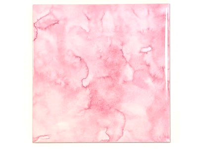 Watercolour Textures 10x10cm Ceramic Tiles - Taffy (HM)