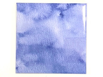 Watercolour Textures 10x10cm Ceramic Tiles - Purple (HM)