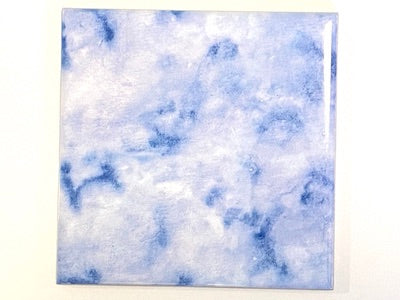 Watercolour Textures 10x10cm Ceramic Tiles - Royal (HM)