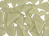 White Crystal Glass Mosaic Tiles Irregular