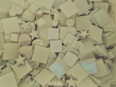 White Tile tesserae Colour Packs