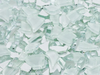 White Crackled Glass Mosaic Tiles