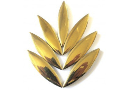 XL Gold Ceramic Petals