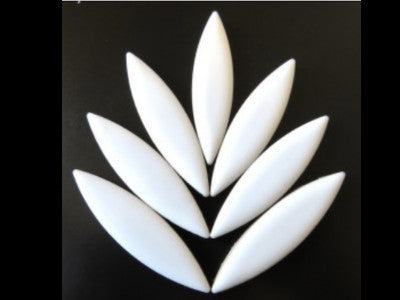 XL White Ceramic Petals