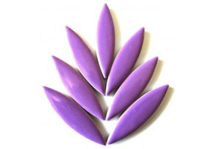 XL Purple Ceramic Petals