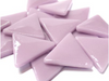 XL Lilac Glass Triangles (Special Order Product)