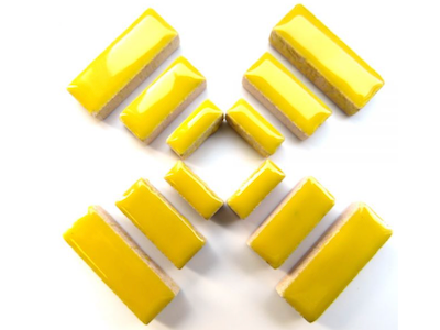 Yellow Ceramic Rectangles