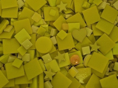 yellow tile and tesserae colour packs