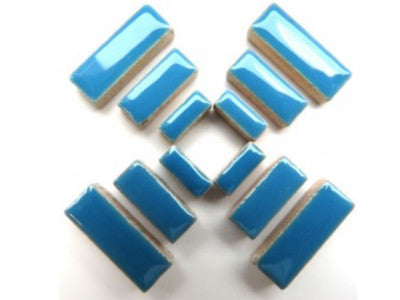 Blue Ceramic Rectangles