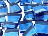 Blue Irregular Mirror Tiles