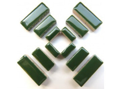Dark Green Ceramic Rectangles