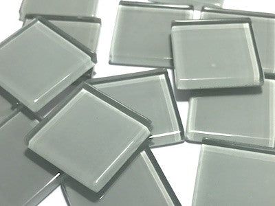 Grey No. 2 Glass Mosaic Tiles 2.5cm