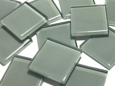 Grey No. 3 Glass Mosaic Tiles 2.5cm