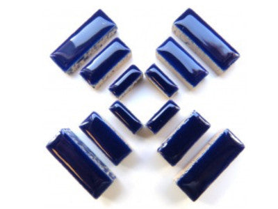 Indigo Ceramic Rectangles