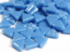 Blue Glass Triangles
