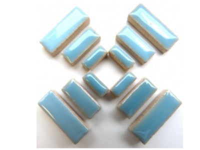 Light Blue Ceramic Rectangles