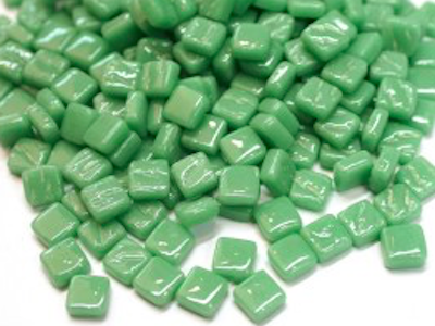 meadow green 8mm glass tiles