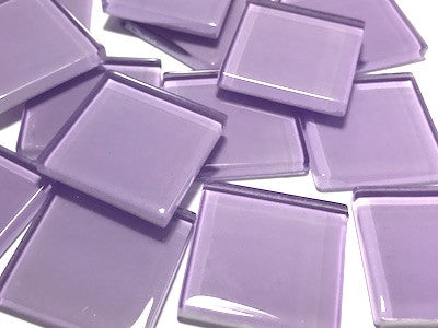 Purple No. 8 Glass Mosaic Tiles 2.5cm