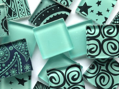 Handmade Colour Mix - Teal