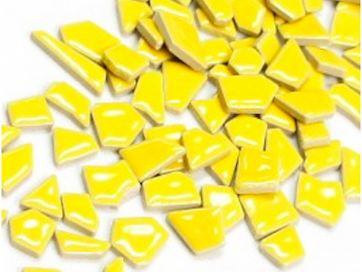 yellow ceramic puzzle pieces
