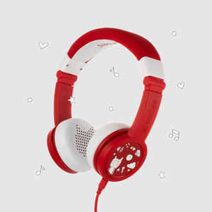 Headphones - Red