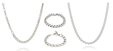 Sterling Silver Chains For Men