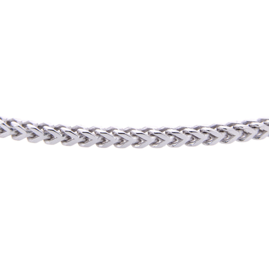 Sterling Silver Mens Bracelets - AG-925 Men's Sterling Silver Franco Chain Type Bracelet