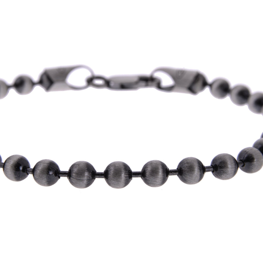 Sterling Silver Mens Bracelets - Men's Sterling Silver Ball Chain Bracelet