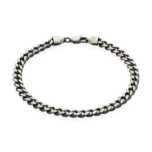 Sterling Silver Mens Bracelets - Men's Sterling Silver Bracelet