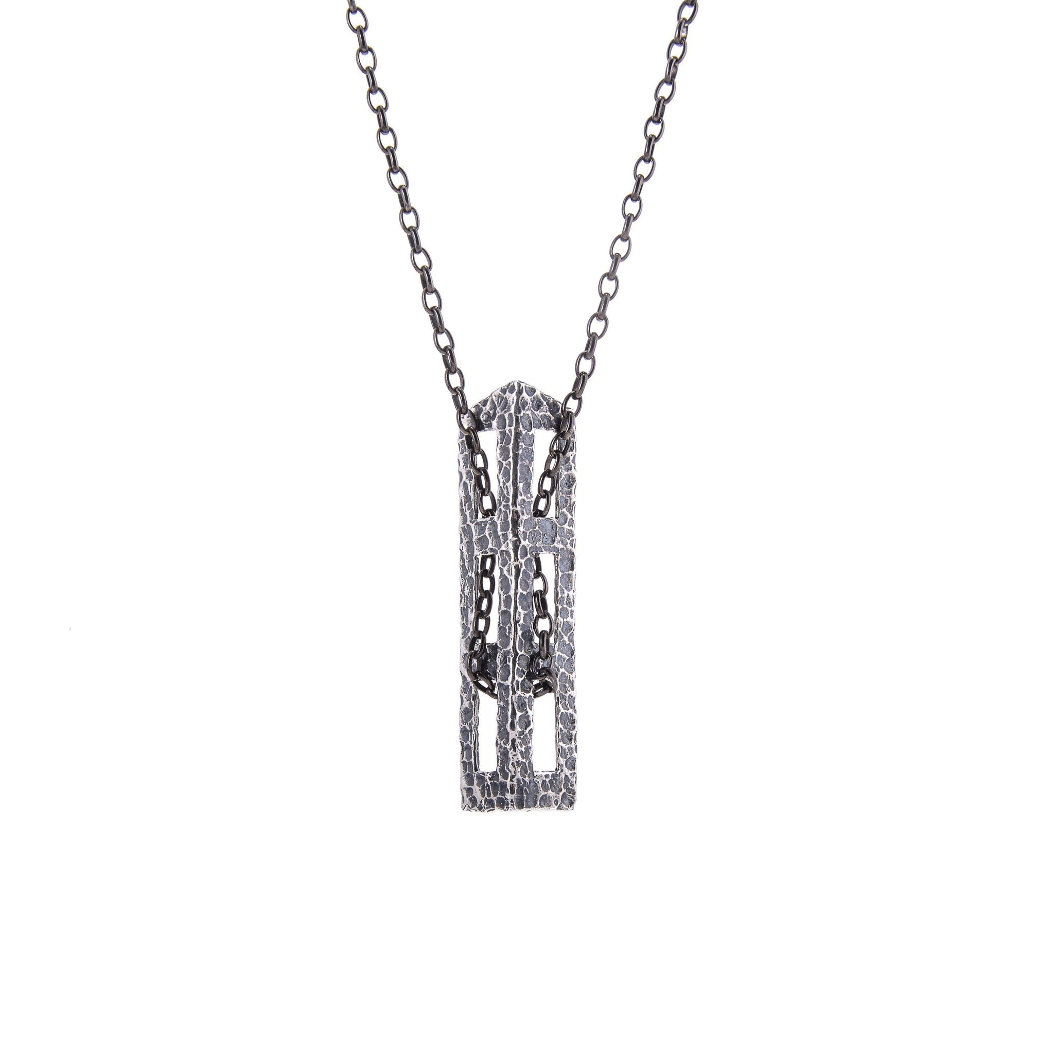 block products on chain italian close x jewellery all charmed silver black sterling
