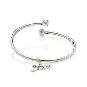 Sterling Silver Womens Bracelets - 'Dream' Sterling Silver Bracelet