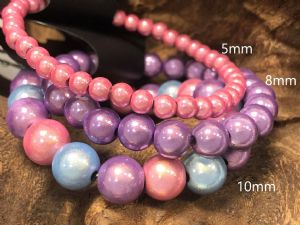 BoraBeads - Bead sizes - Rainbow Nation