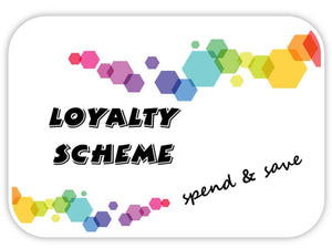 Rainbow Nation Loyalty Scheme - spend & save