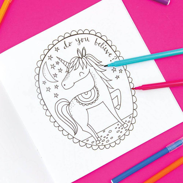 Rachel Ellen Rachel Ellen Colouring Book - Unicorns - Rainbow Nation