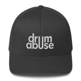 DRUMABUSE Logo Fitted Hat