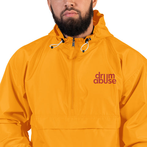 NEW! Drumabuse Embroidered Logo Packable Jacket
