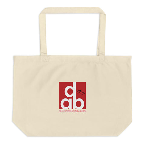NEW! REUSABLE Eco-Friendly DRUMABUSE SIGNATURE Tote Bag