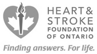 Heart & Stroke Foundation of Ontario logo