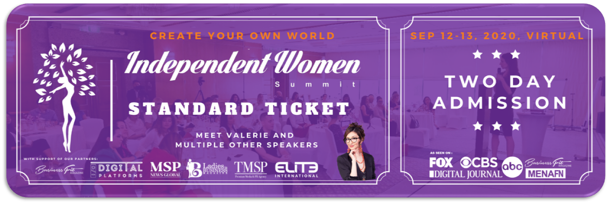 Independent Women Summit 2020 - Standard Ticket