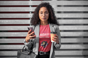 BADASS Business Woman 🦸‍♀️ T-Shirt │ 𝓘𝓷𝓭𝓮𝓹𝓮𝓷𝓭𝓮𝓷𝓽 𝓦𝓸𝓶𝓮𝓷 𝓢𝓽𝔂𝓵𝓮