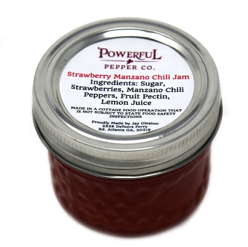 Strawberry Manzano Chili Jam